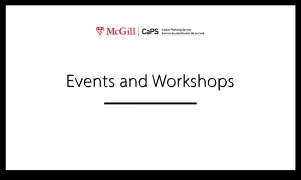 Job Search Action Plan Workshop
