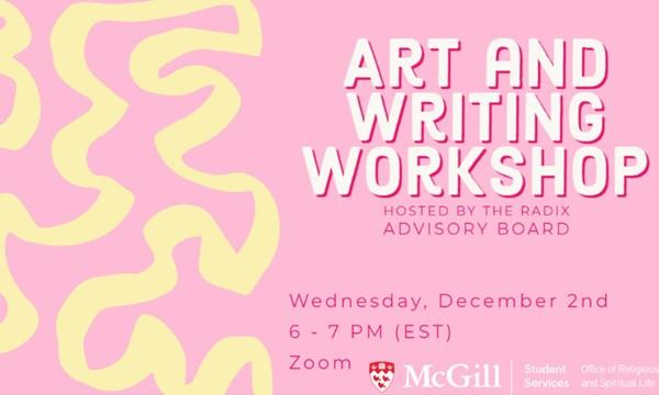 Radix Art and Writing Workshop