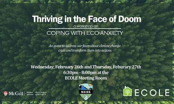 Workshop on Coping with Eco-Anxiety