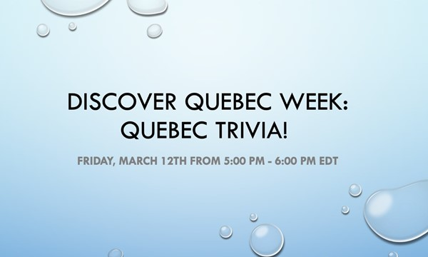 Quebec Trivia