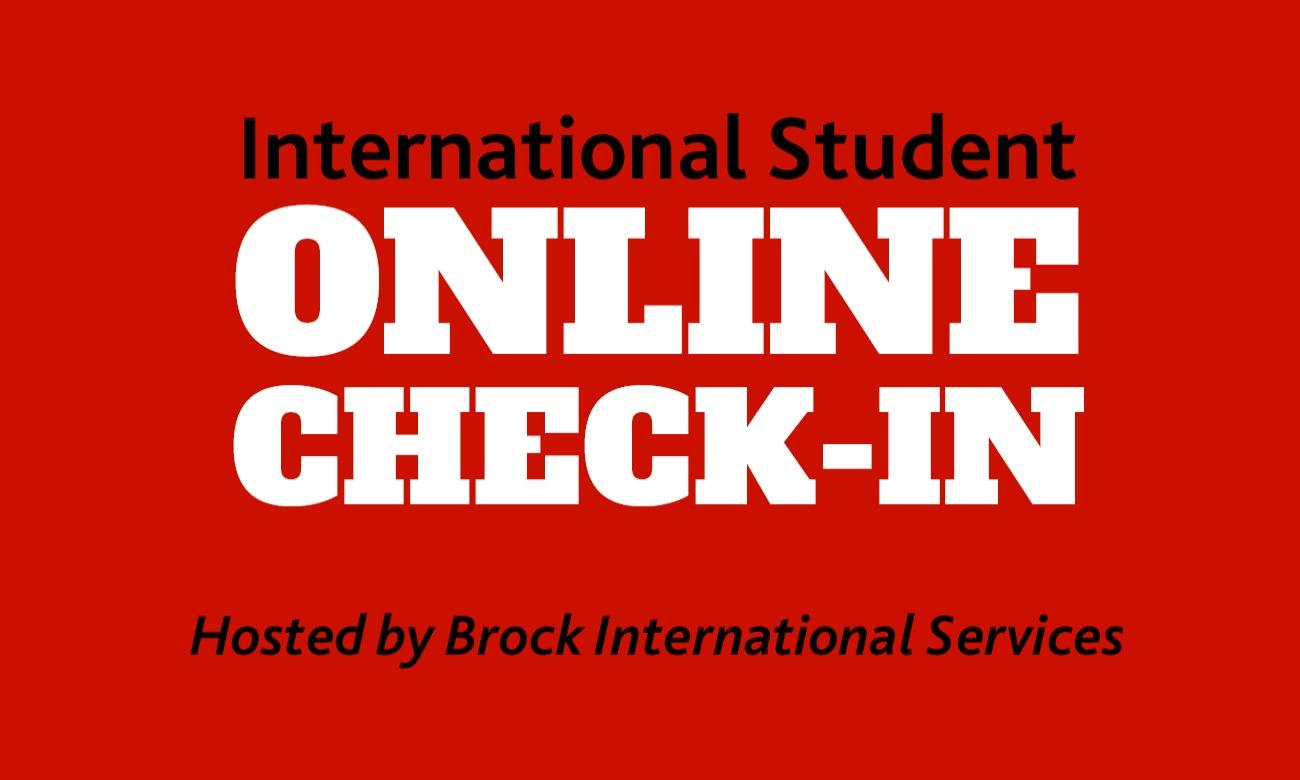 International Student Online Check-In