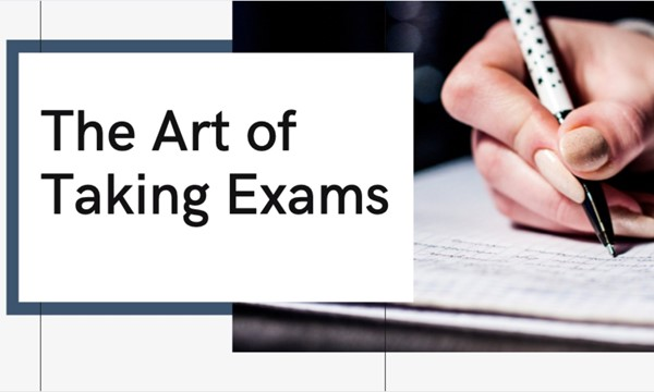 The Art of Taking Exam</body></html>