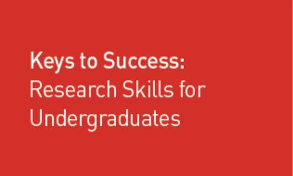 Research Skills for Undergraduates