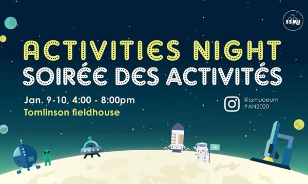 Winter Activities Night / La soirée des activités d