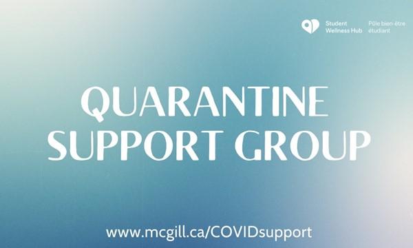 Quarantine Support Gro</body></html>