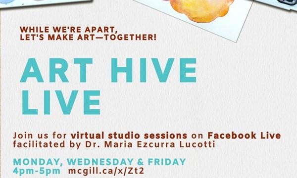 Art Hive Live