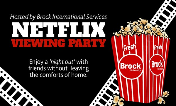 Netflix Viewing Party (Online)