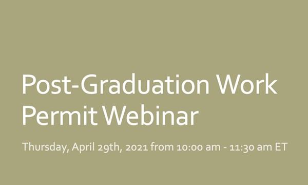 Post-Graduation Work Permit Webinar