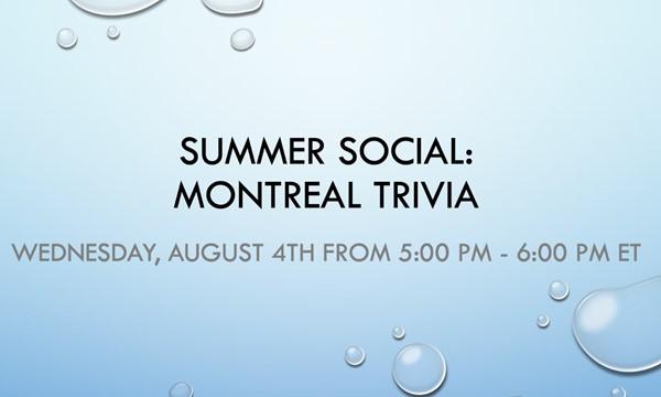 Montreal Trivia