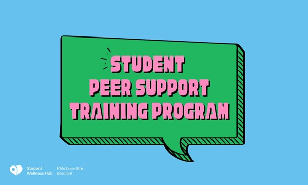 Student Peer Support Training Program