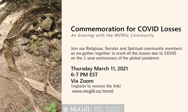 Commemoration for COVID Losses