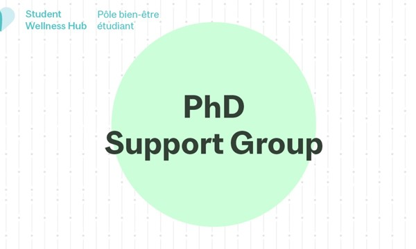 PhD Support Group