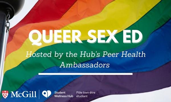 Queer Sex Ed. Workshop