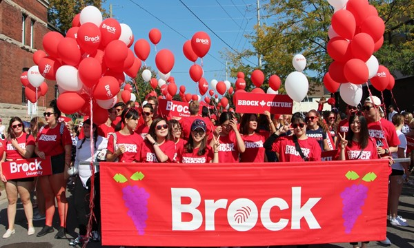 Walk With Brock in the Grape and Wine Parade