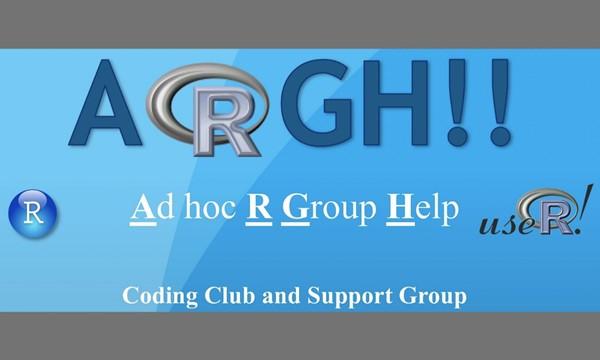 ARGH Coding Club Meeting (Cancelled)