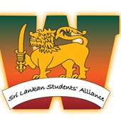 Logo for Sri Lankan Students' Alliance