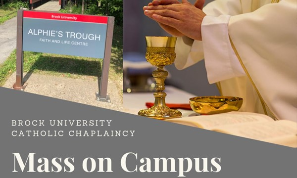 Catholic Mass on Campus