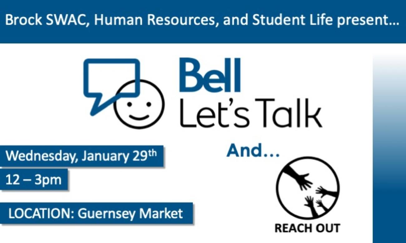 Bell Let's Talk Day and Reach Out!