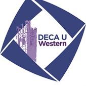 Logo for DECA U Western
