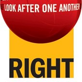 Logo for Right to Play Western