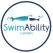 Logo for SwimAbility London (Making Waves)