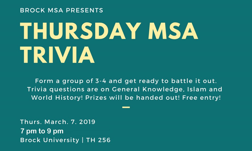 Trivia Night - ExperienceBU