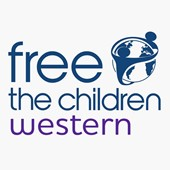 Logo for Free The Children Western